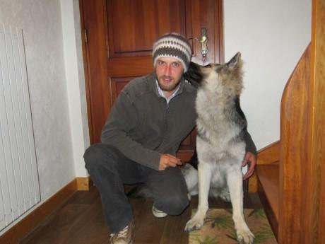 Le bonnet en poil de chien
