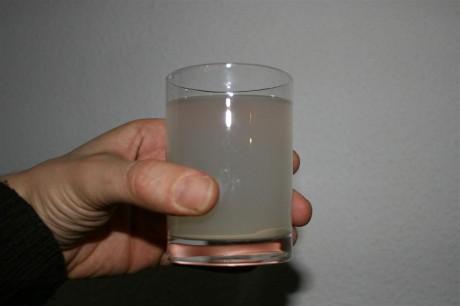 C'est pas de l'eau sale !