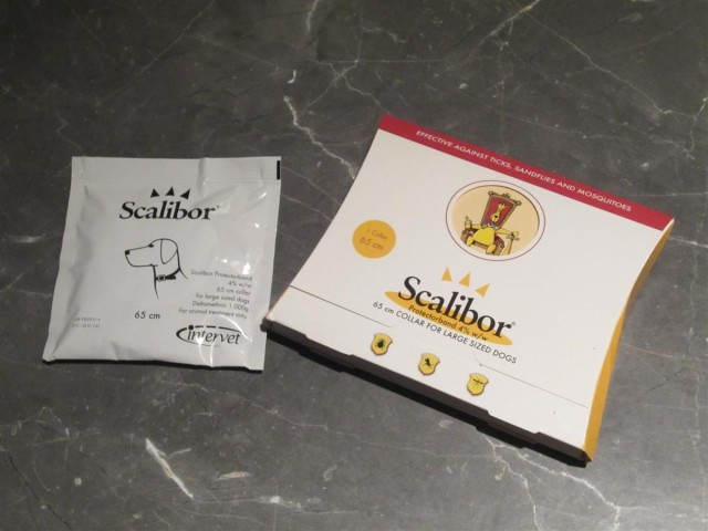 On sort le collier Scalibor de son paquet